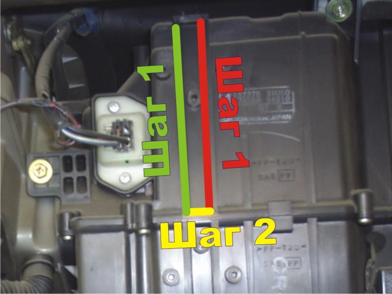 инструкция снятия салонного фильтра nissan bluebird