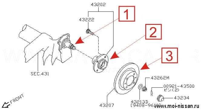 3 - Тормозной диск