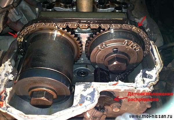 Схема двигателя qg18de