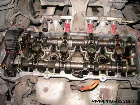 Взаимозаменяемость двигателей QG18DE