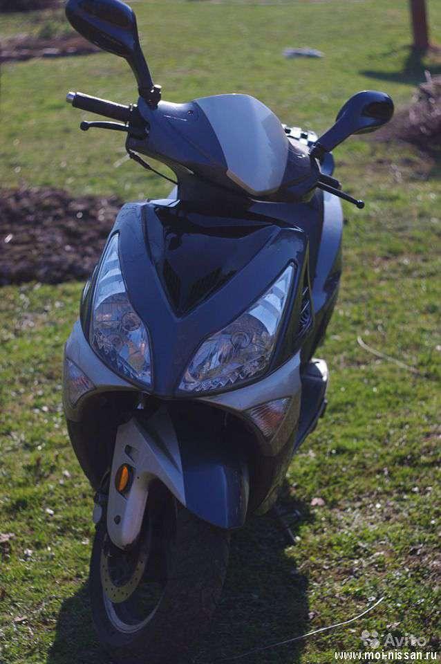 Затюненый скутер Viper Storm