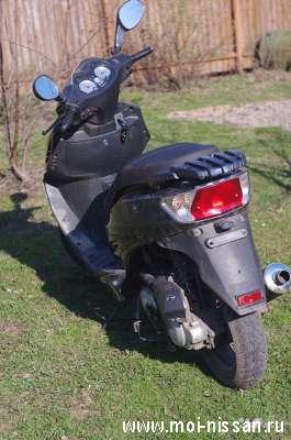 Затюненый скутер Viper Storm 85сс