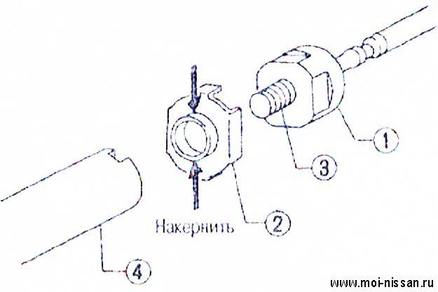 рулевого привода.