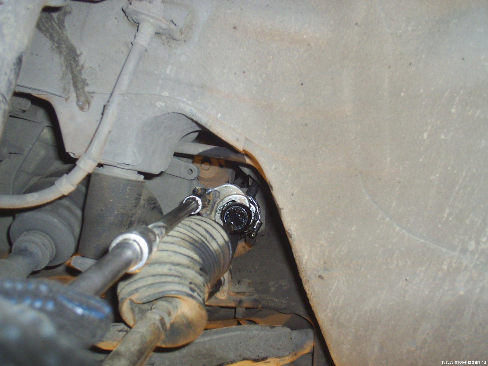 Замена сальника рулевой рейки рено симбол своими руками