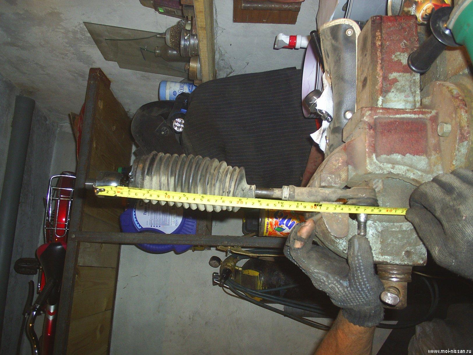 снятие рулевой рейки skoda octavia фотоотчет