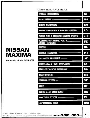 Nissan Cefiro & Maxima A31
