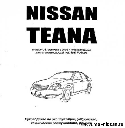 Nissan Teana J31 ( user_manual _ RUS )