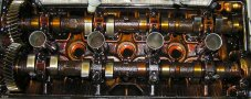 Какое Масло лить в Двигатель (Фотографии двигателей после использования различных масел)