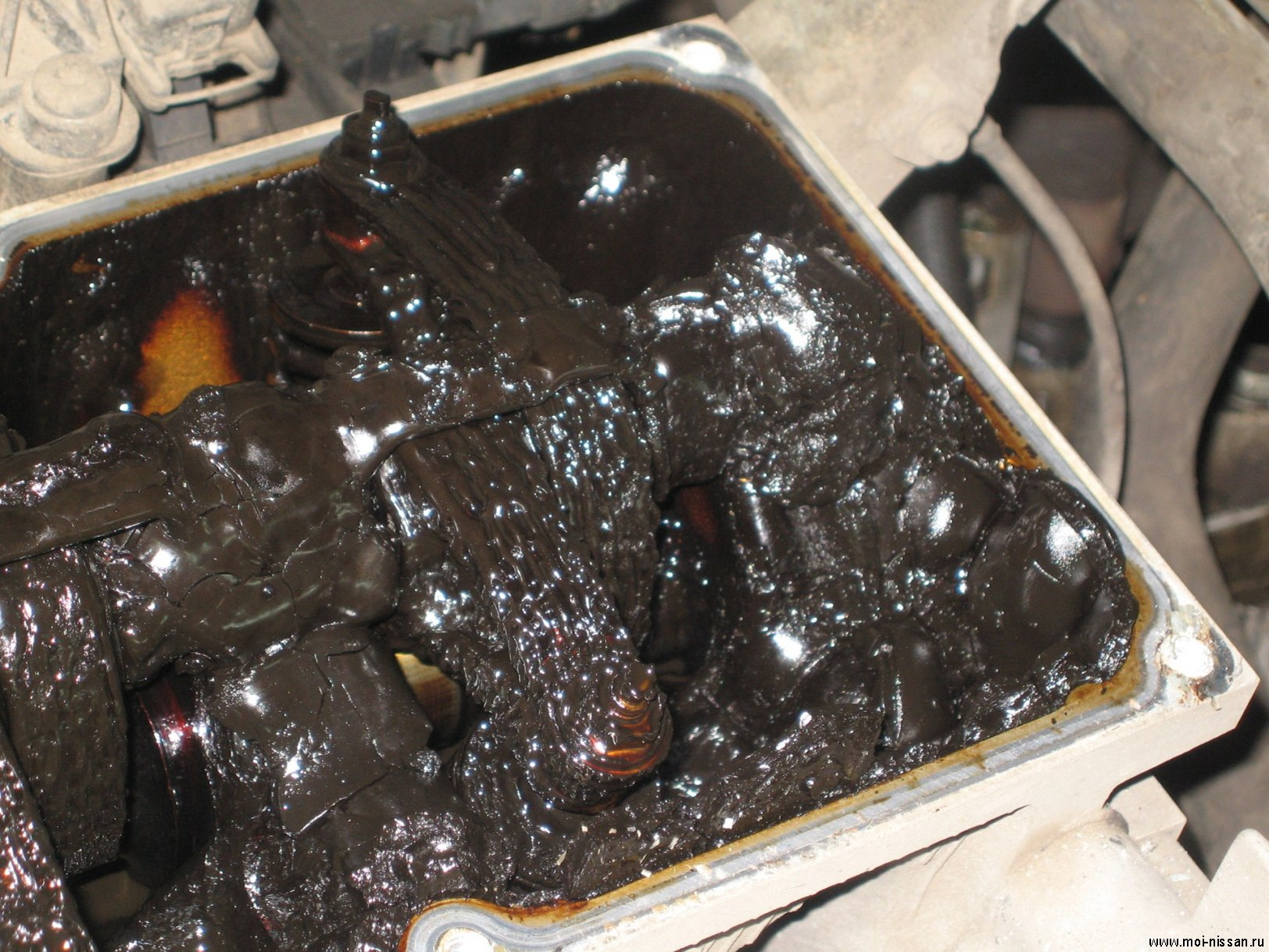 how to clean car engine after oil leak