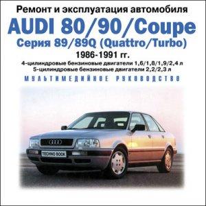 Автосервис на дому Audi 80/90 выпуск 1987-1990 г.