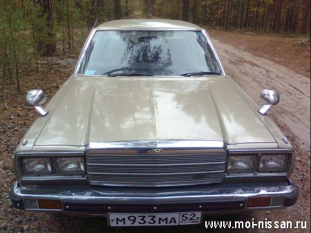 Nissan Laurel 1979 год. двигатель Z-18
