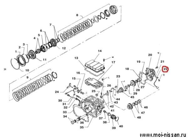 Инструкция по замене датчика скорости на ниссан серена c23