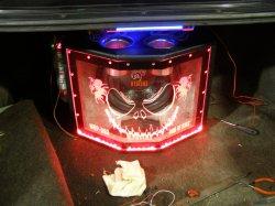 6-и канальная аудио система в автомобиль ... Установка усилителя, сабвуфера и конденсатора своими руками