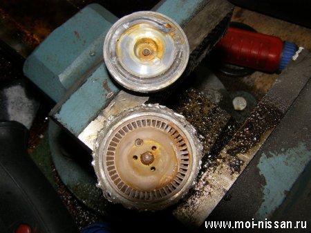 Схема устройства и работы автомобильного бензонасоса [ топливного насоса ]
