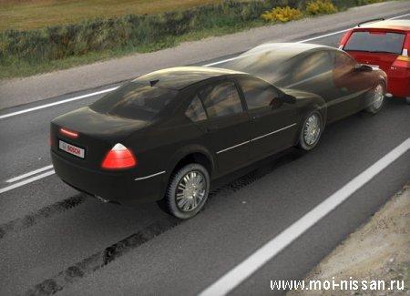 Элементы системы безопасности автомобиля: PBA [ Прогнозирующая система ]