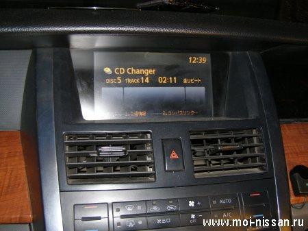 Установка MP3 USB Адаптера для штатных магнитол Nissan