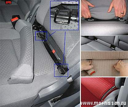 Fiat  Car Seat Attachmend