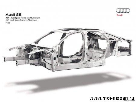 Элементы системы безопасности автомобиля: ASF  [ Конструкционная система зашиты при ударах ]