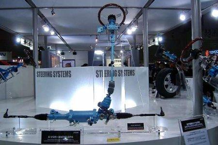 Элементы системы безопасности автомобиля:   E-VGR [  Регулятор передаточного отношения рулевого управления  ]