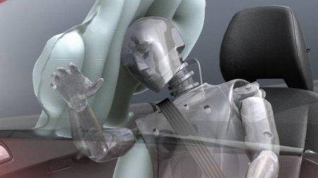 Элементы системы безопасности автомобиля:   IC [  Надуваемая занавеска  ]