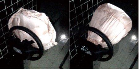 Элементы системы безопасности автомобиля: Подушка безопасности i-SRS Airbag System