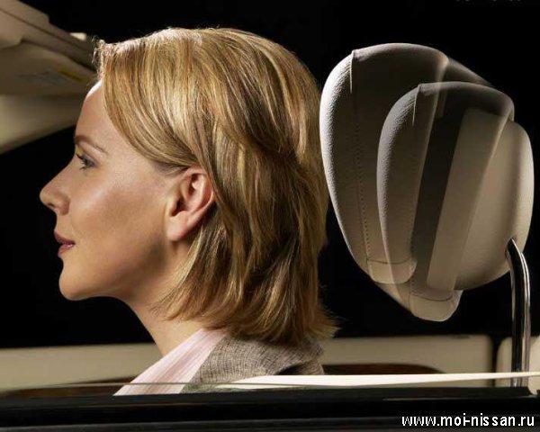Элементы системы безопасности автомобиля:   NECK-PRO [  Активные подголовники  ]