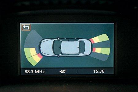 Элементы системы безопасности автомобиля:   APS [  Ультразвуковой датчик расстояния  ]