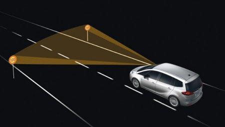 Элементы системы безопасности автомобиля: TSR [  Система разпознования дорожных знаков  ]