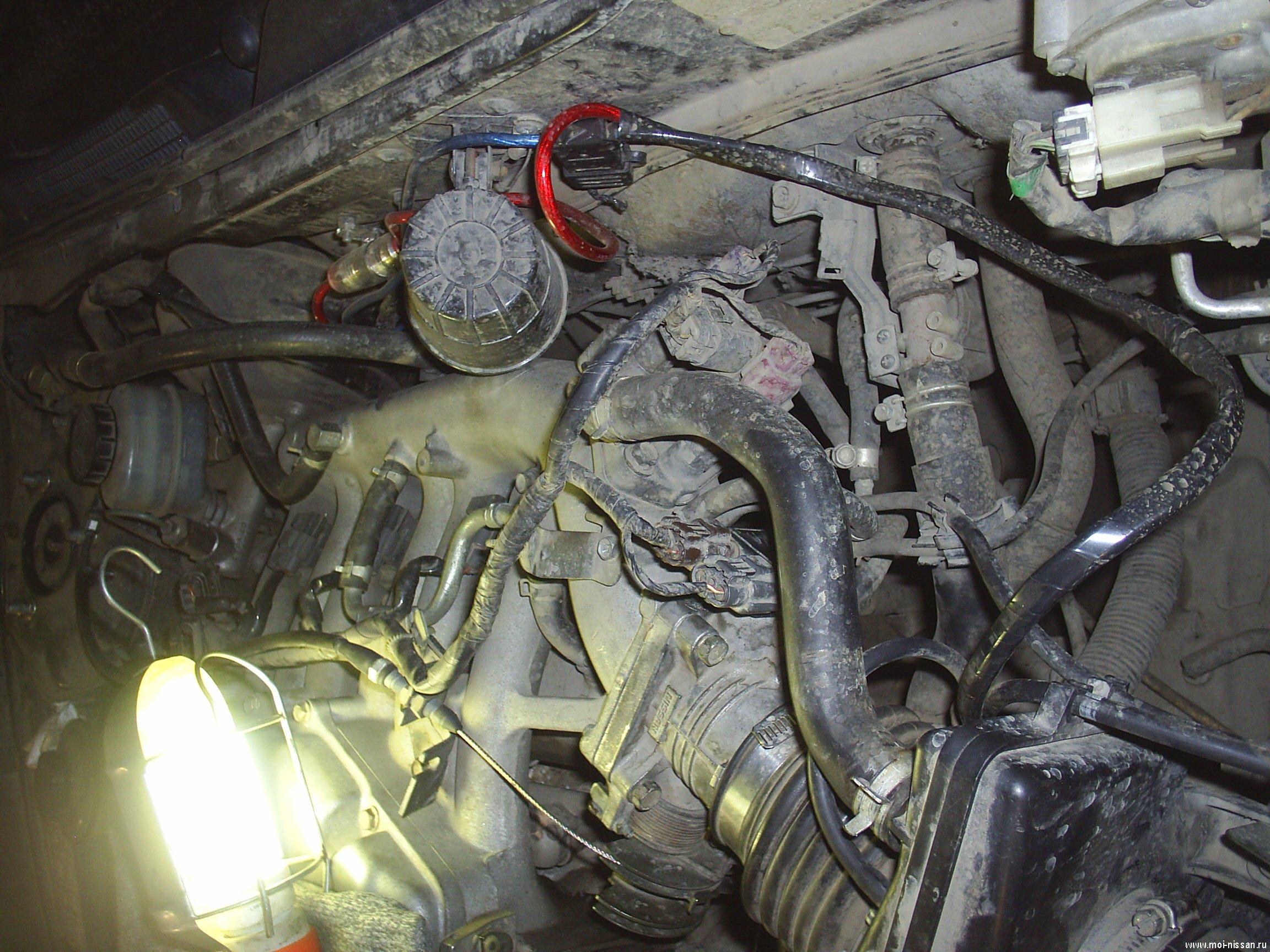Чистка холостого клапана хода форд фокус 2 1 8 3 фотография