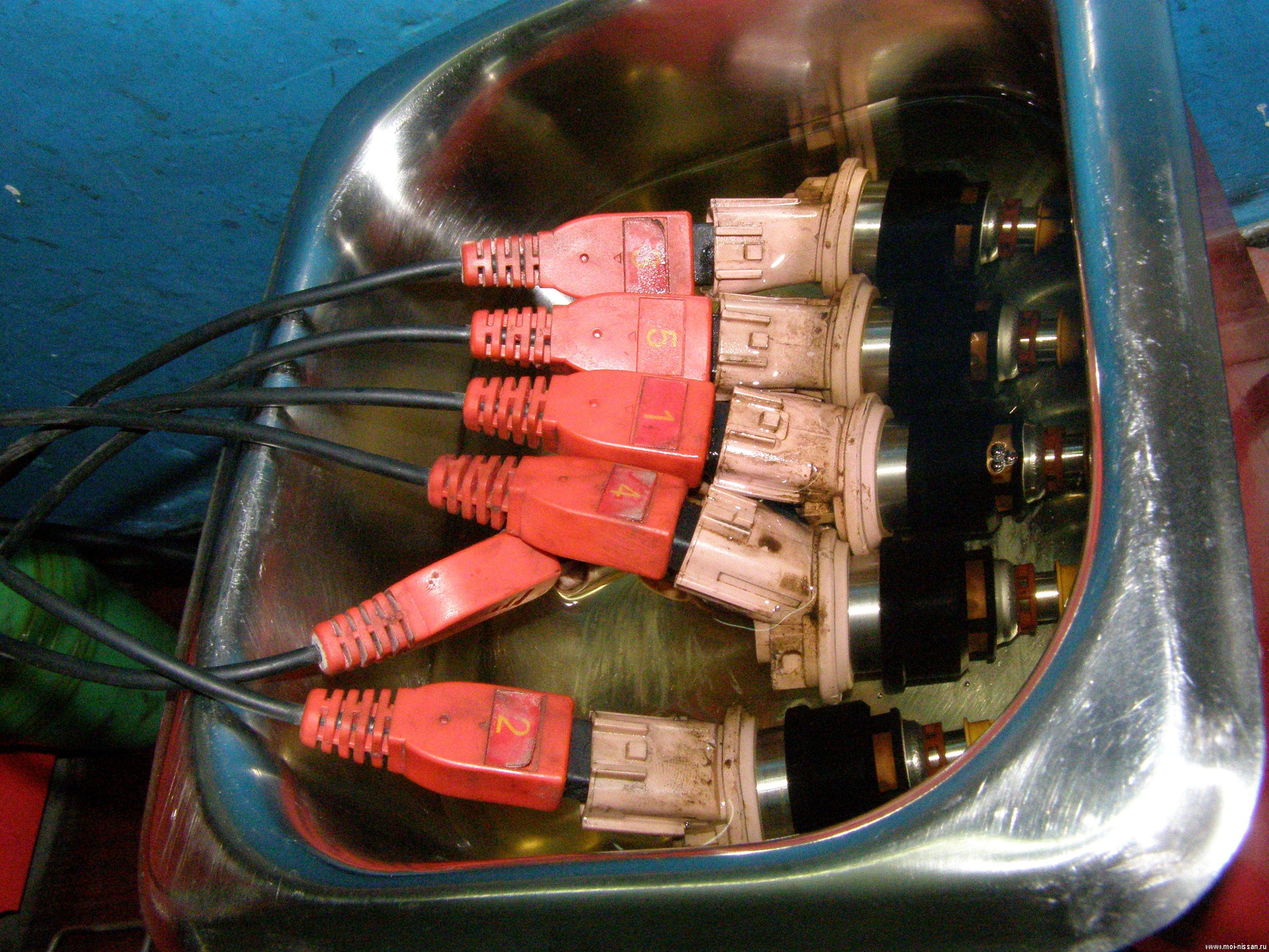 прибор для промывки форсунок схема