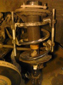 Ремонт подвески Nissan TEANA ... Как поставить проставки на Nissan