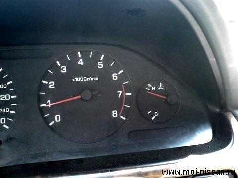 Закипел двигатель .
