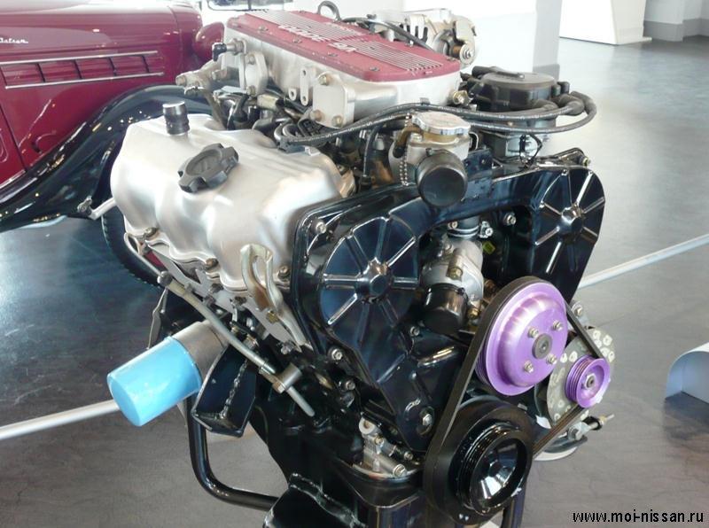 Двигатель VG20ET .