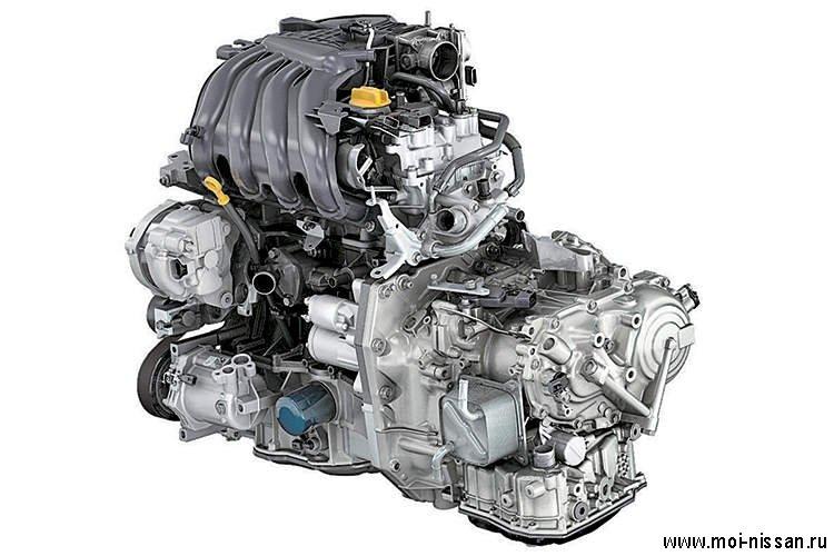 Двигатель HR16DE является