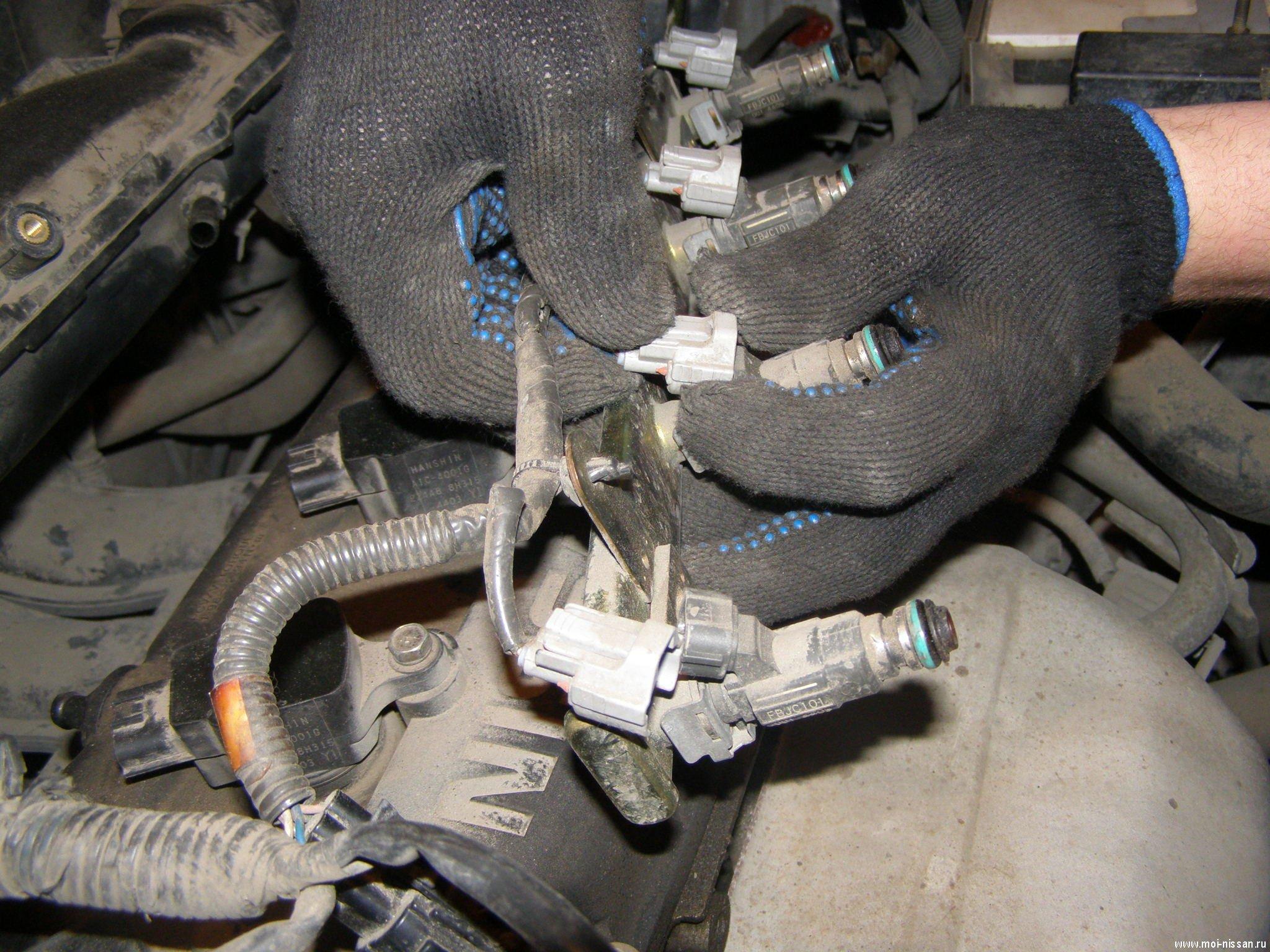 Промывка инжектора ниссан примера своими руками