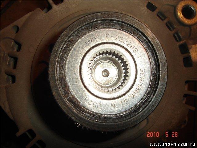 Как разобрать генератор Nissan
