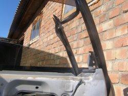 Как снять замок двери - разобрать дверь Nissan Teana