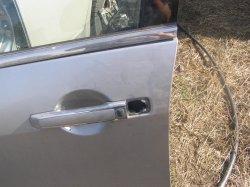 Как добраться до замка передней двери Nissan Teana