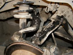 Самостоятельная замена сайлентблоков задней подвески Nissan Cedric/Gloria Y33