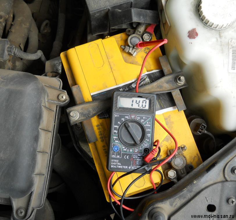 не идет зарядка на аккумулятор опель омега