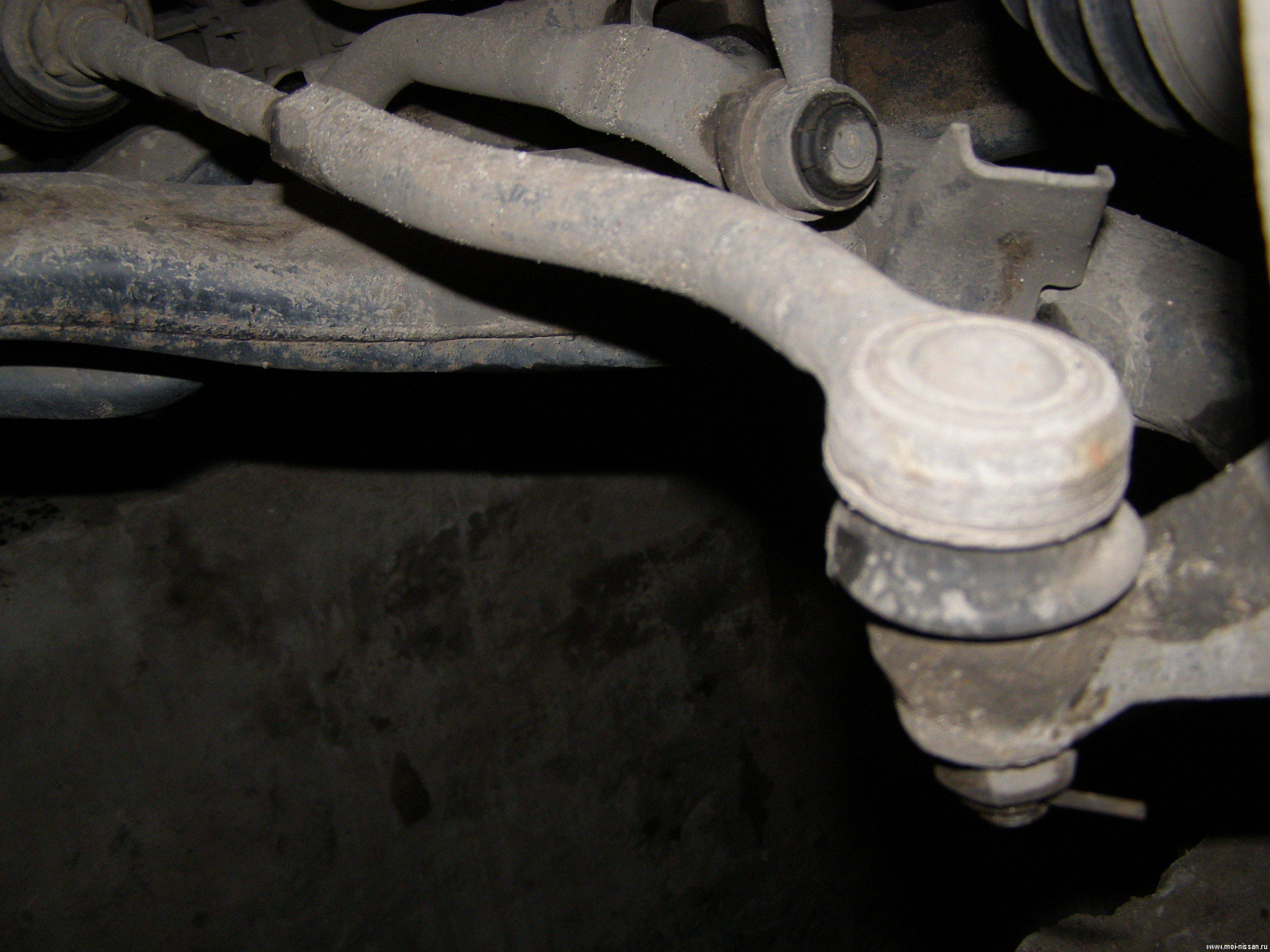 Замена рулевых тяг 2107 своими руками 365