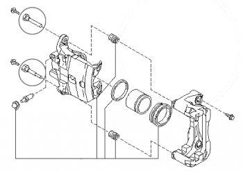 Профилактика и ремонт направляющих суппорта